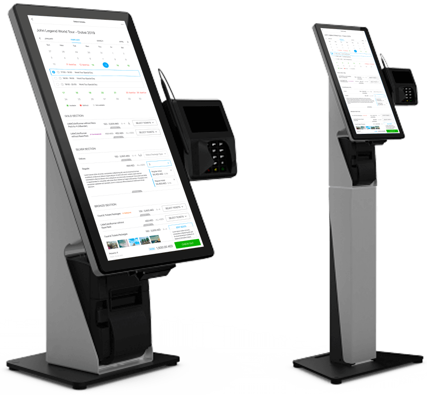 self-serve terminals