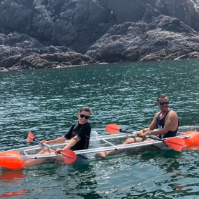 Snoopy Island See-through Kayak Experience in Fujairah: Gallery Photo 38v7jn