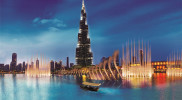 The Dubai Fountain Lake Ride in Dubai: Gallery Photo 3dk4bz