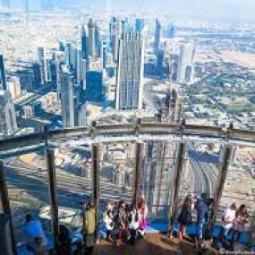 z941pn استديو الصور :دبي في Burj khalifa, At the Top + Round trip Dubai Marina