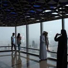 n0v8q3 استديو الصور :دبي في Burj khalifa, At the Top + Round trip Dubai Marina