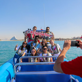 90 Minute Guided Sightseeing Speed Boat Tour in Dubai: Gallery Photo 3qex43