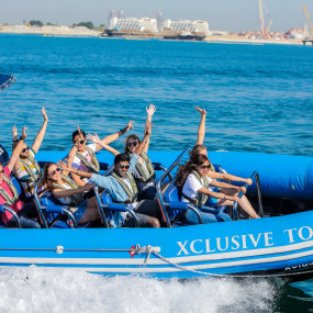 90 Minute Guided Sightseeing Speed Boat Tour in Dubai: Gallery Photo nkedqn
