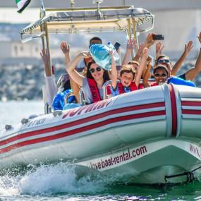 Speed Boat Tour: Dubai Marina, Burj Al Arab, The Palm in Dubai: Gallery Photo 3rqwvn