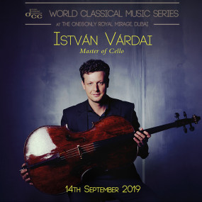 zwp4k3 استديو الصور :دبي في World Classical Music Series | István Várdai | Master of Cello