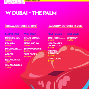 Photos from WAKE UP CALL FEATURING DJ SET BY DISCLOSURE AND LIVE PERFORMANCES BY RÜFÜS DU SOL and RITA ORA in Dubai
