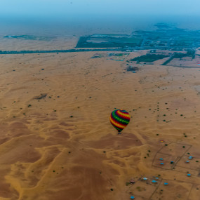 Deluxe Sunrise Hot Air Balloon with Breakfast in Dubai: Gallery Photo zv8j0n