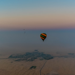 Deluxe Sunrise Hot Air Balloon with Breakfast in Dubai: Gallery Photo 382793