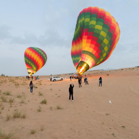 Deluxe Sunrise Hot Air Balloon with Breakfast in Dubai: Gallery Photo zgey8n