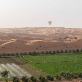 Deluxe Sunrise Hot Air Balloon with Breakfast in Dubai: Gallery Photo zo4v0n