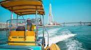 60 Minutes Boat Tour - The Marina Cruise (Dubai Marina, Ain Dubai, Bluewaters and JBR) in Dubai: Gallery Photo x34my3