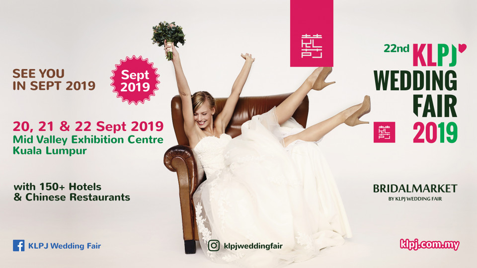 22nd KLPJ Wedding Fair 2019 (SEPTEMBER 2019) Mid Valley Exhibition Centre, Saigon Exhibition & Convention Center, المعارض