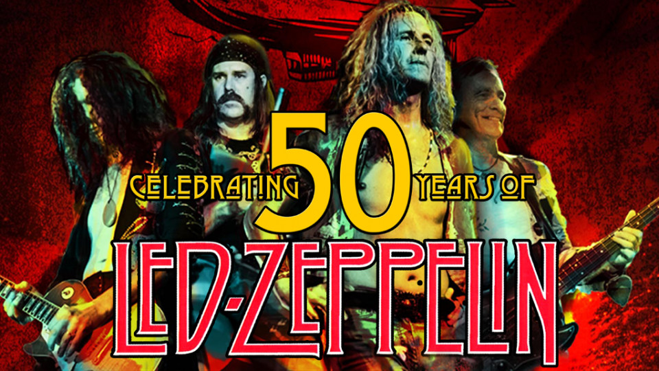 50 Years of LED ZEPPELIN,أبوظبي