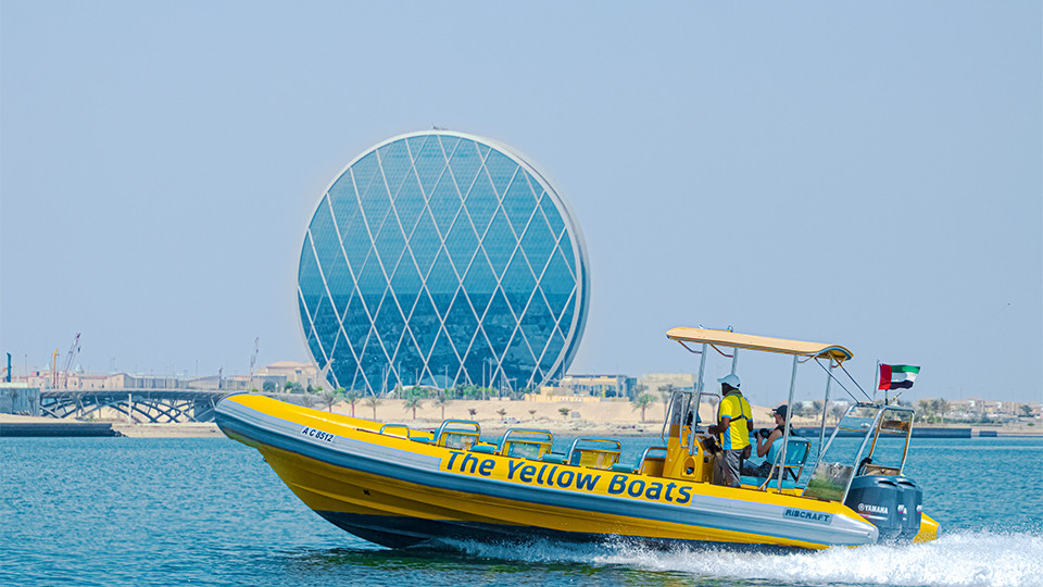 75 Minutes Boat Tour- Yas Marina, Ferrari World, Mangroves, Al Raha Bay & Aldar HQ ( Abu Dhabi ),Yas Marina ( Abudhabi ),Speed Boat Tours