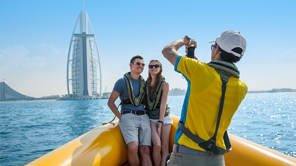 99 Minutes Boat Tour - The Original Tour (Palm Jumeirah, Burj Al Arab, Ain Dubai, Atlantis & Marina),Yellow Boats (Dubai),Speed Boat Tours
