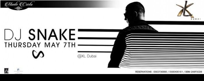 DJ SNAKE Live at XL Dubai,دبي