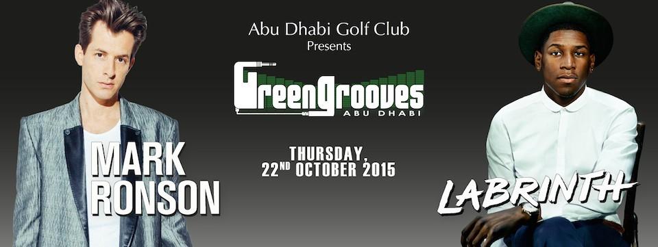 GREEN GROOVES feat. Mark Ronson & Labrinth, The Grille Restaurant at Abu Dhabi Golf Club, Nightlife, Urban