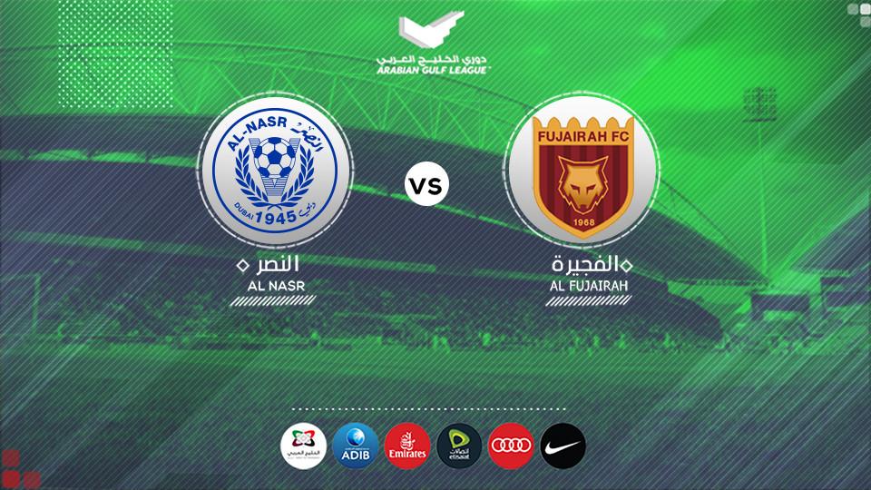 Al Fujairah FC Vs Al Nasr FC,Fujairah