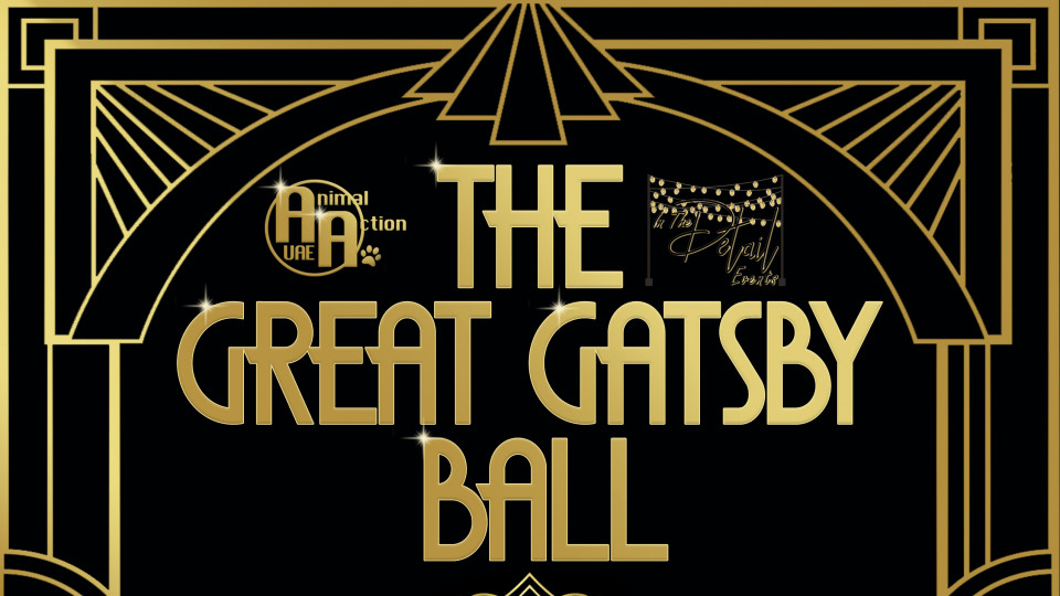 Animal Action Annual Charity Ball - The Great Gatsby Ball,Kuzbara, Marriott Downtown Abu Dhabi,Gala Dinner