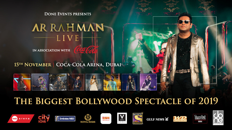 AR RAHMAN LIVE IN DUBAI,Coca-Cola Arena,Desi Events, Concerts