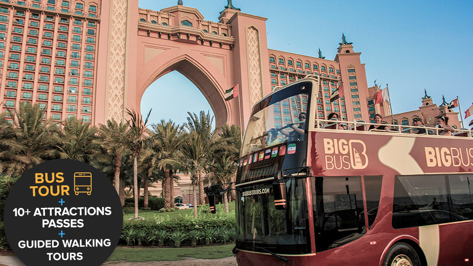 Dubai Hop-On-Hop-Off Big Bus Tour,Dubai,Sightseeing and Tours