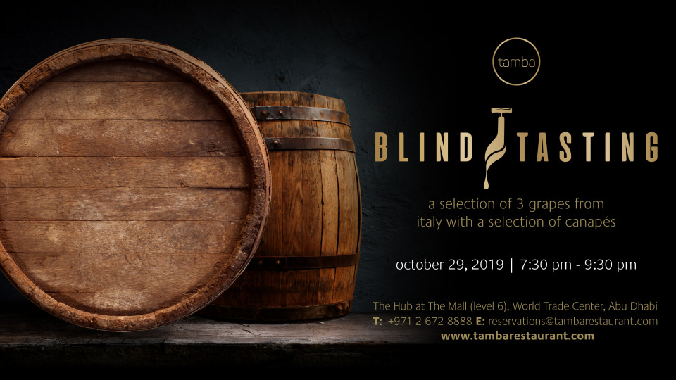 Blind Tasting at Tamba Restaurant,Tamba Restaurant,Specials of the Week