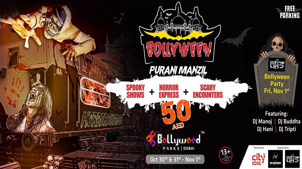 BOLLYWEEN - Halloween Celebrations: Bollywood Style (Full-day Park Access),Dubai Parks and Resort,Halloween, Theme Parks