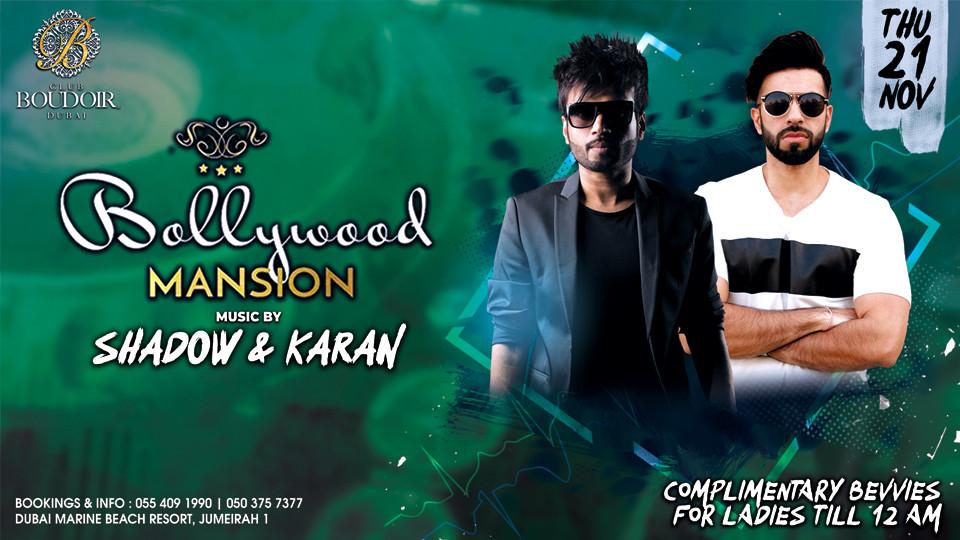 Bollywood Mansion at Club Boudoir,Club Boudoir,Desi Events