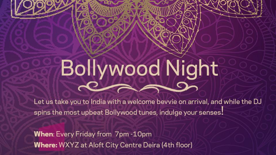 Bollywood night,دبي