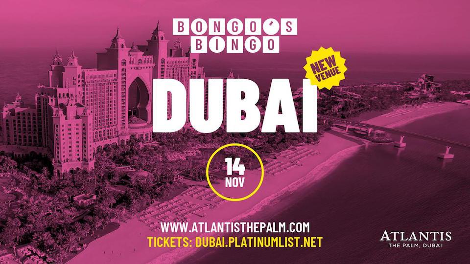Bongo's Bingo,Asateer Tent, Atlantis The Palm,Concerts