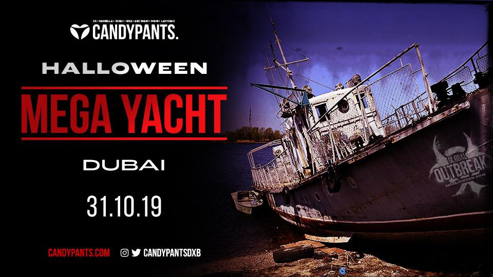 Candypants Halloween Mega Yacht,Lotus, pier 7,Halloween, Yacht Cruises