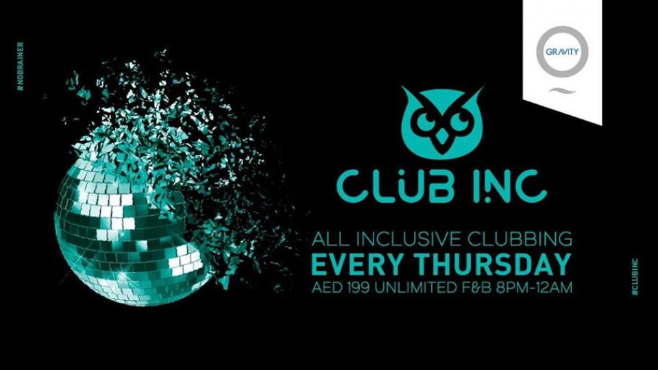 Club Inc. AED 199 all inclusive clubbing!,Zero Gravity,Popular
