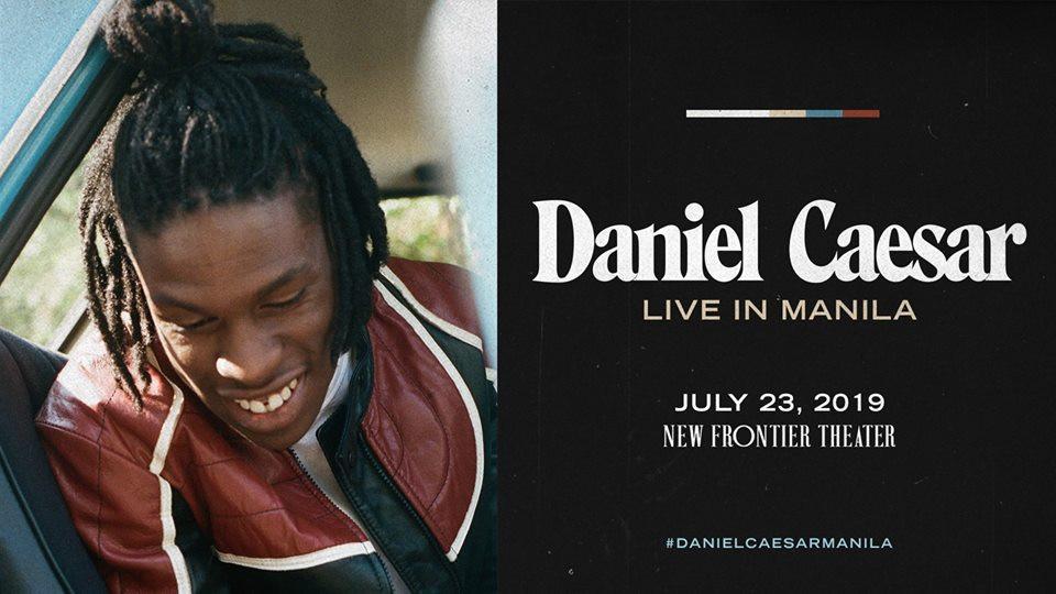 Daniel Caesar: Live in Manila, New Frontier Theater, Concerts