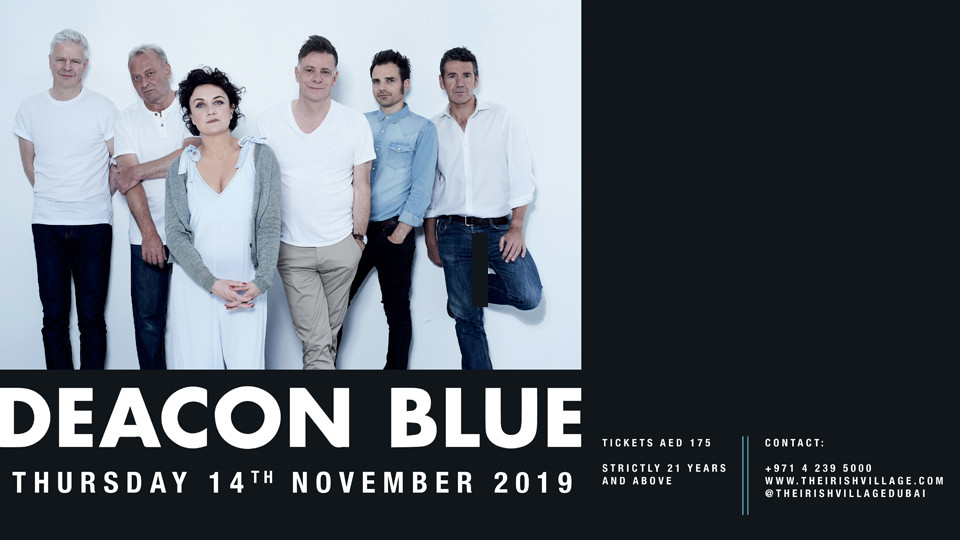Deacon Blue Concert,Dubai