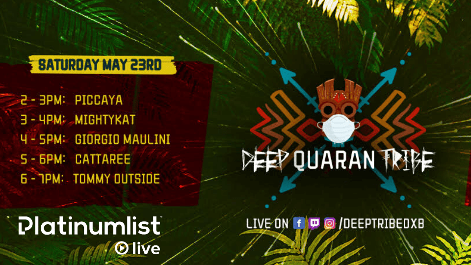 Deep QuaranTribe with Piccaya, MightyKat, Giorgio Maulini, Cattaree & Dj TommyOutside, Online Events, Online Concerts, Online Nightlife Events