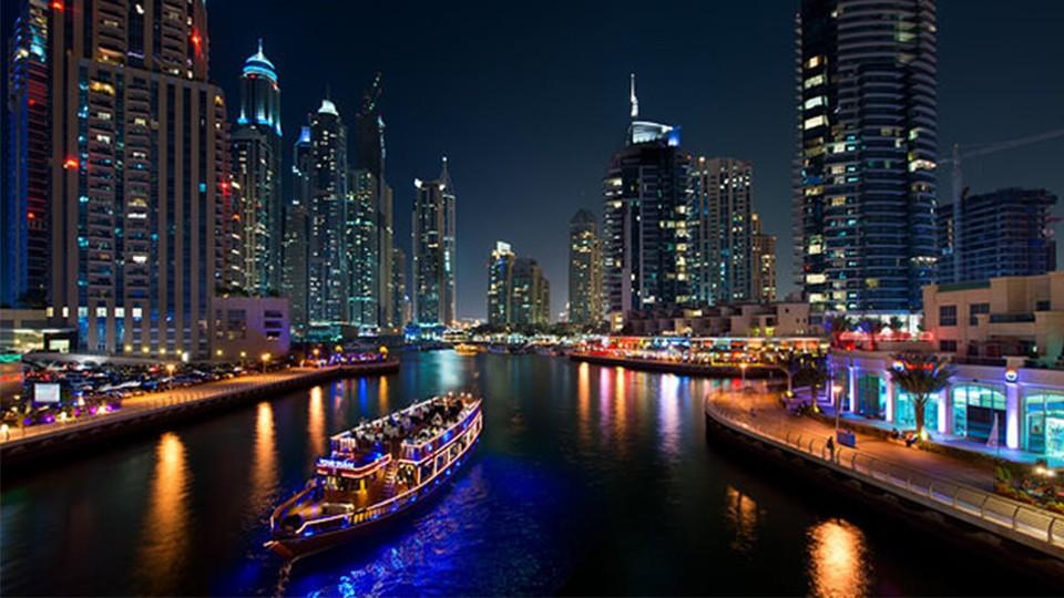 Deluxe Dhow Cruise Marina,Dubai,Dhow Cruise