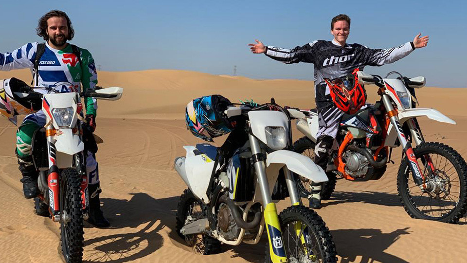 Dirt Bike Safari,Dubai,رحلات سفاري في الصحراء