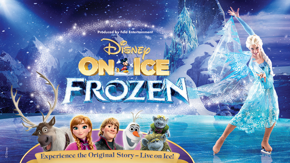 Disney On Ice presents FROZEN,Etihad Arena,Kids Events, Shows