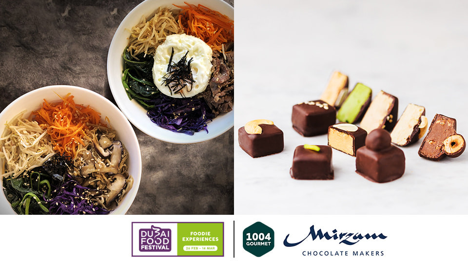 DIY Korean and chocolate dinner,Mirzam Chocolate Makers - Alserkal Avenue,Experiential Dining