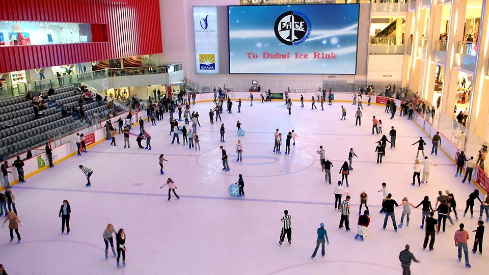 Dubai Ice Rink - Dubai Mall,Dubai