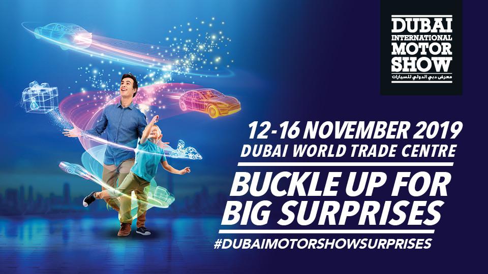Dubai International Motor Show 2019,DUBAI WORLD TRADE CENTRE,Exhibitions