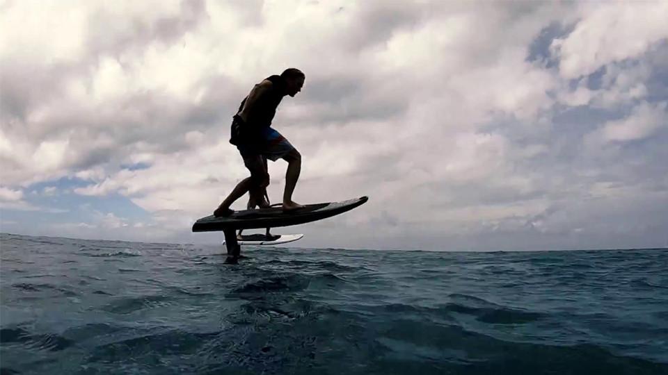E- FOIL Surfboard at JBR Dubai,Seawake Yacht Rental - JBR Public beach,Water Sports