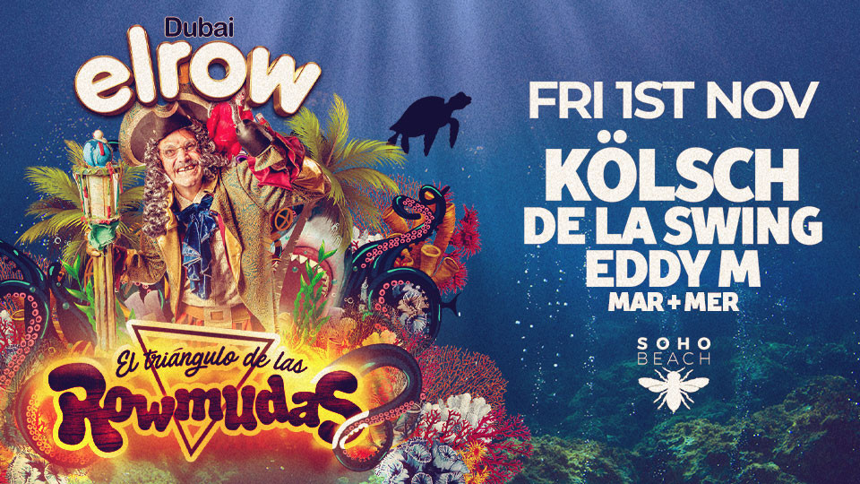 Elrow // November 1 // Soho Beach DXB,Soho Beach,Underground, Halloween