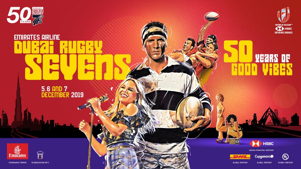 Emirates Airline Dubai Rugby Sevens,The Sevens Stadium Dubai,الأحداث الرياضة
