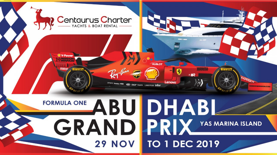 F1 Grand Prix on a Luxury Yacht Abu Dhabi,Yas Marina ( Abudhabi ),Sports Events