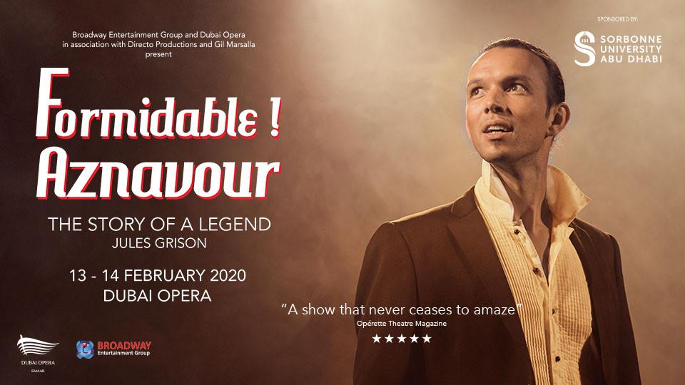 Formidable! Aznavour At Dubai Opera,Dubai Opera,Shows