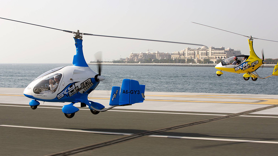 Gyrocopter Flight,Dubai,Aerial Adventures