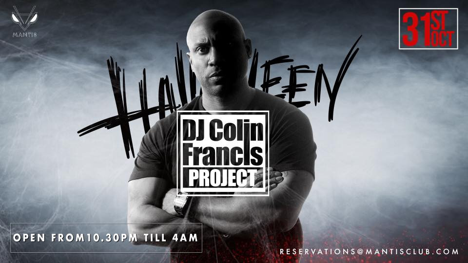 Halloween at Mantis Dubai | Oct 31,Mantis Dubai,Halloween