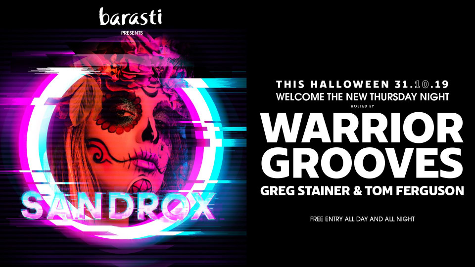 Halloween Party with Warrior Grooves,Barasti Beach Bar,Halloween