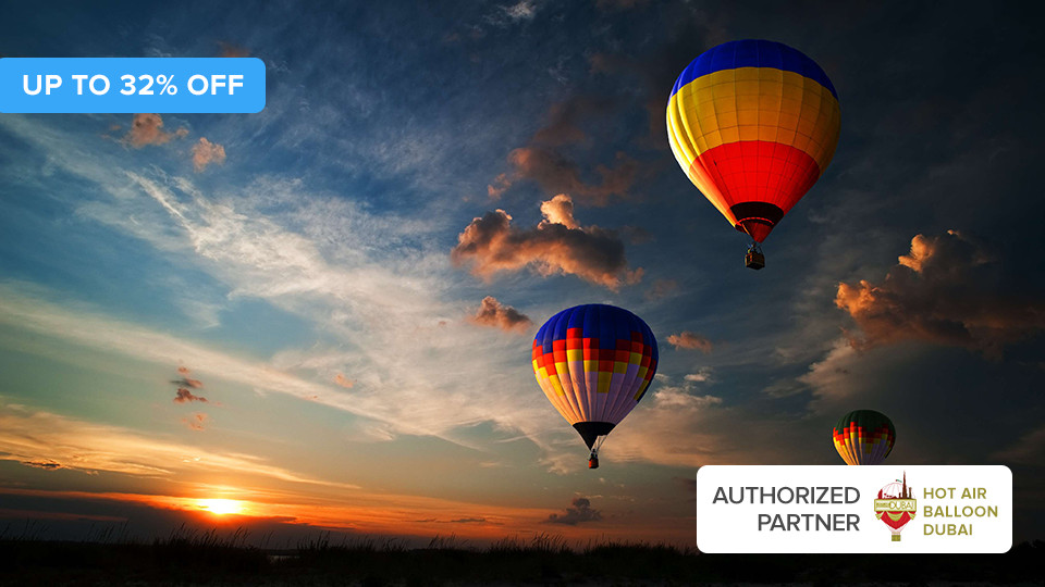 Hot Air Balloon Flight With Transfer,Skyhub Paramotors,Aerial Adventures, Exclusive Offers for Groups